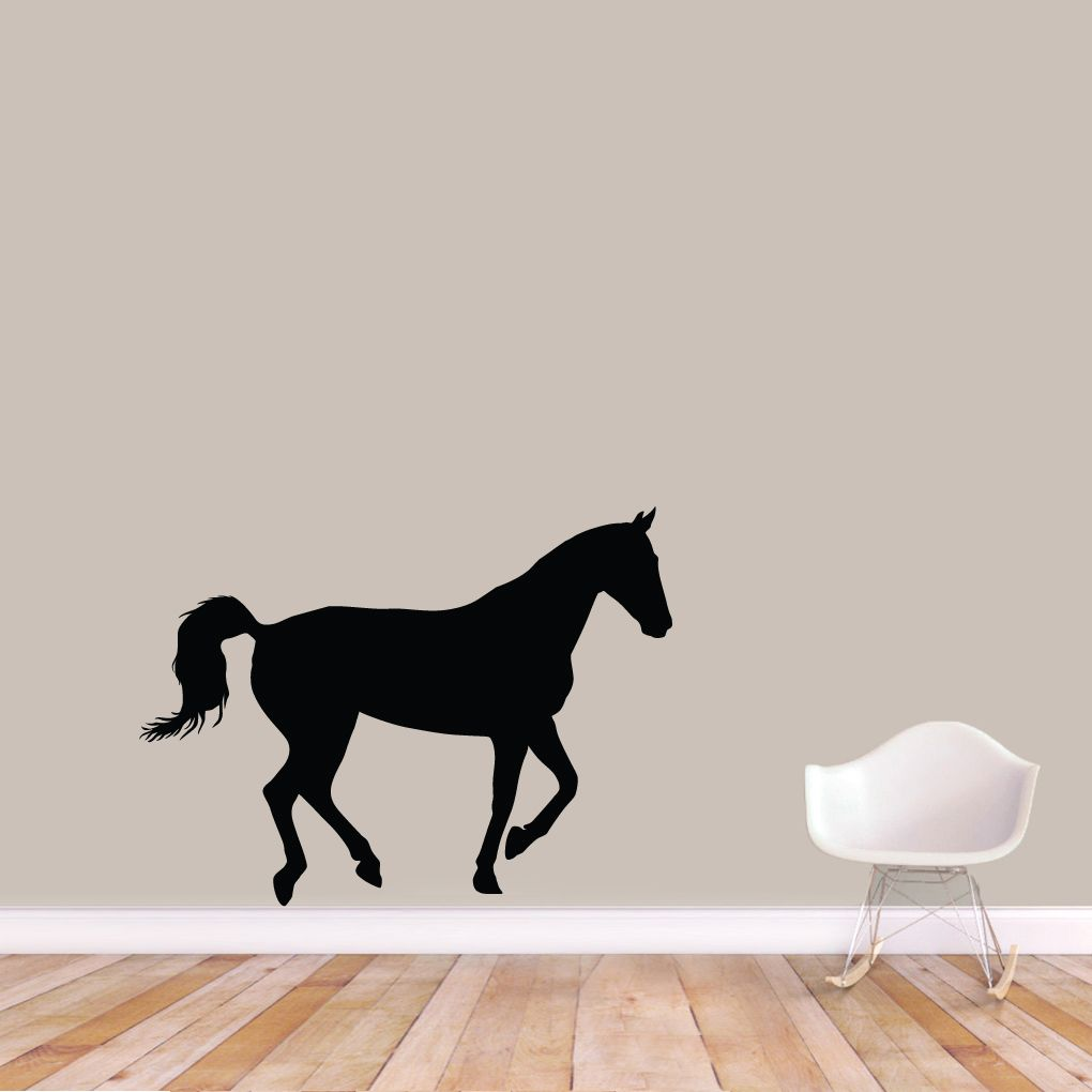 horse silhouette wall decals wall stickers horse silhouette horse silhouette wall decals wall decor stickers