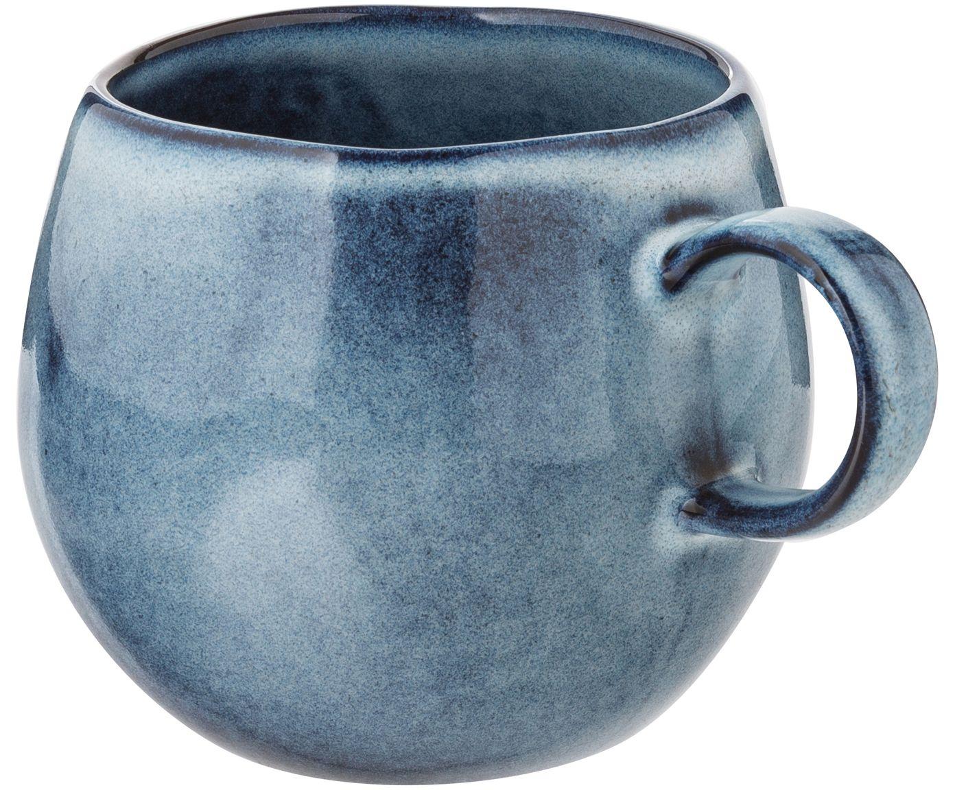 Handgemachte Tasse Sandrine In Blau Westwingnow Tassen Keramik Geschirr Handgefertigt