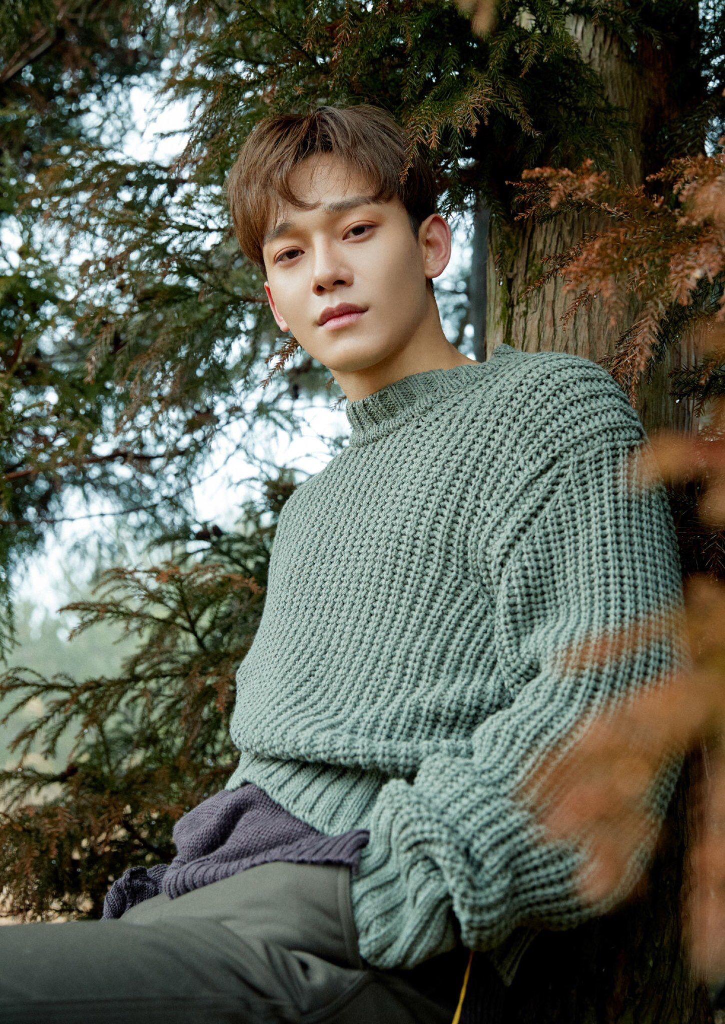 Chen April And A Flower Itunes Digital Booklet Exo Kim Jongdae Exo Chen Exo Exo Jongdae