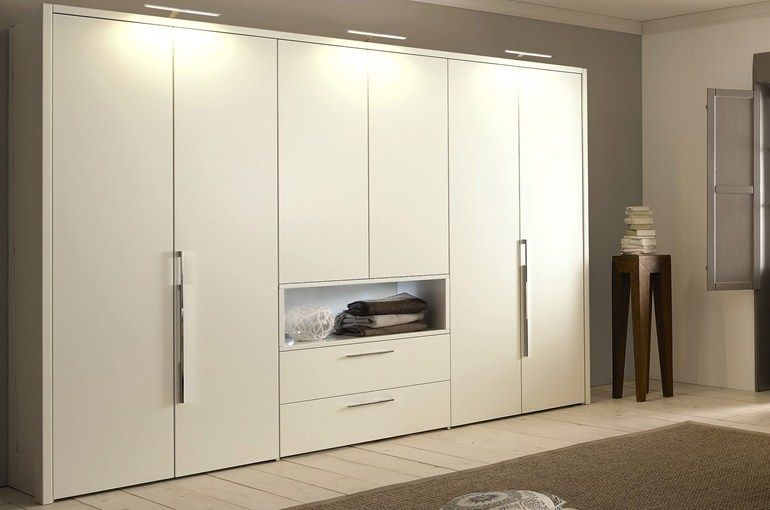 LACQUERED WARDROBE WITH DRAWERS ELUMO II | LACQUERED WARDROBE ...
