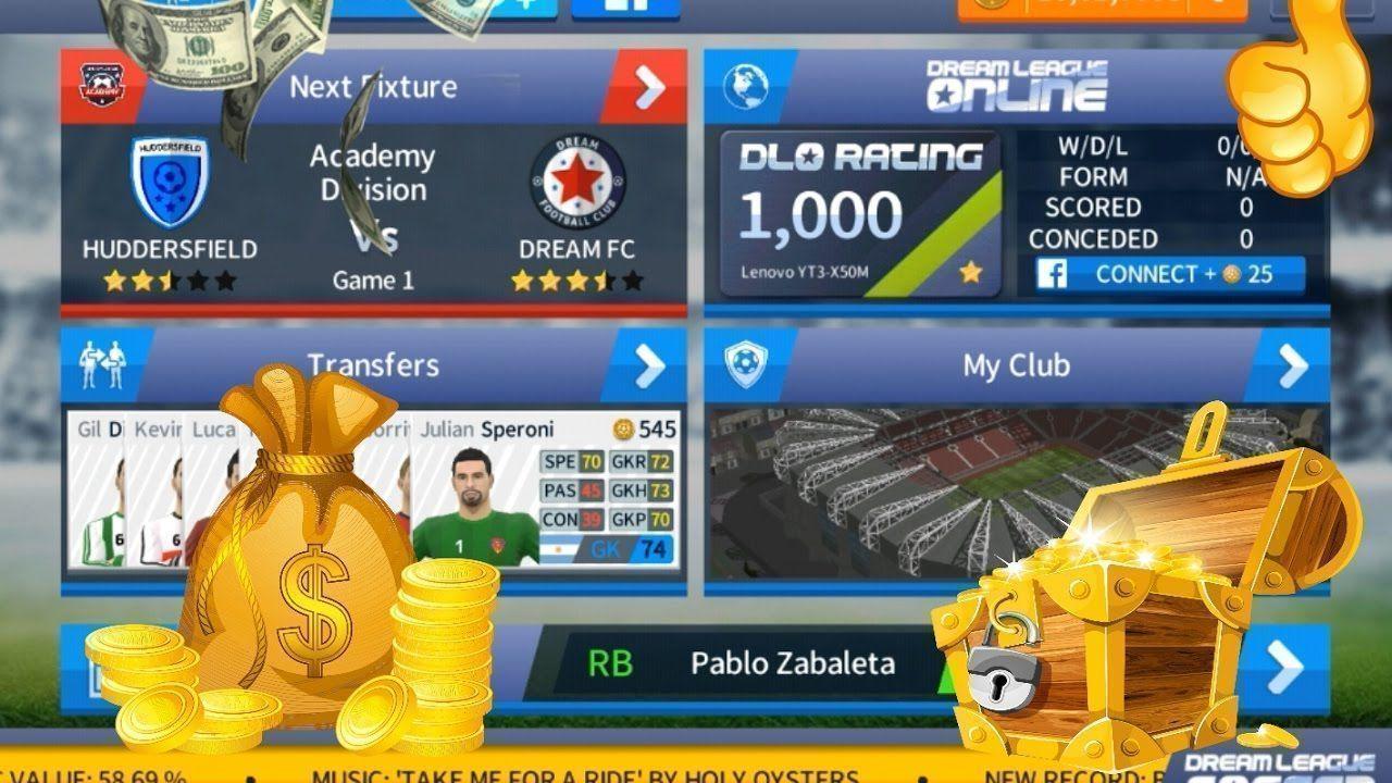 Dream League Soccer Hack 2017 Online 999k Soccer Coins Dreamleaguesoccercheat Dreamleaguesoccerhack Soccerhacks Soccer Training Soccer Top Soccer