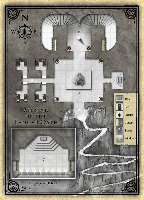 Pin by Mark Stefenelli on d&d maps   Dungeon maps, Fantasy map maker