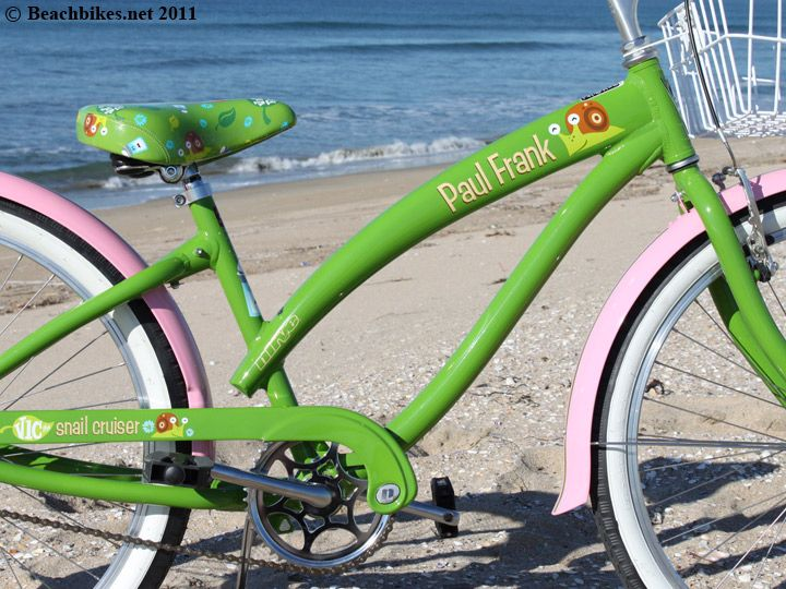 Nirve Paul Frank Vic The Snail Single Speed Green Pink