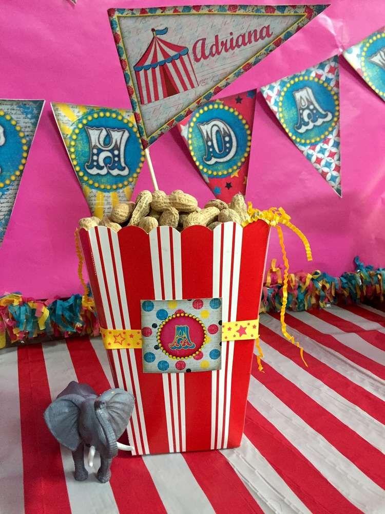 Circus / Carnival Birthday Party Ideas | Circo