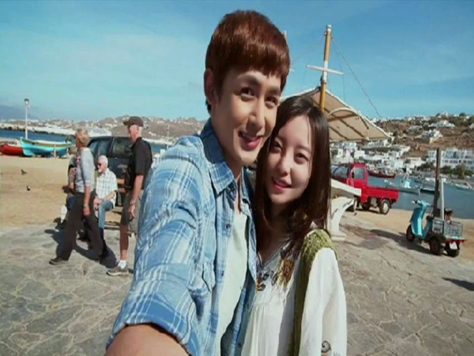 A Music Video Of The Chinese Korean Coproduction One And A Half Summer Showcasing The Scenes That Were Filmed In Greece Was Uploaded Mv Oneandahalfsummer