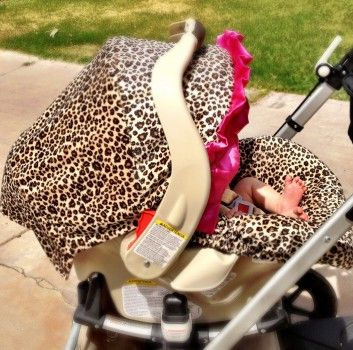 Baby Car Seat Strap Covers Leopard Print | All Things Leopard Print ...