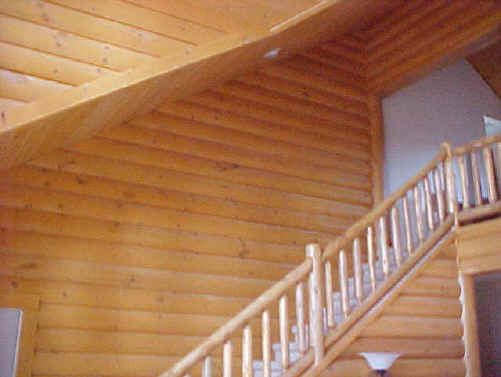 Meadow Valley Log Homes Siding White Cedar Railings Can Be Used Interior Or Exterior And Match Pine Perfectly