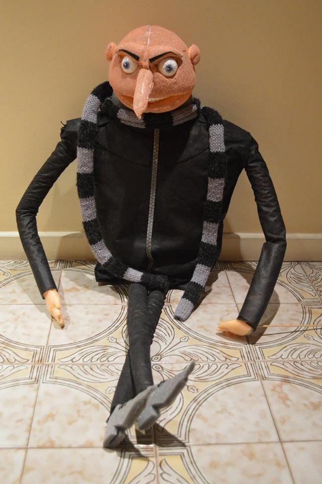 Gru, muñeco de espuma by Arq. Jorge Marrapodi