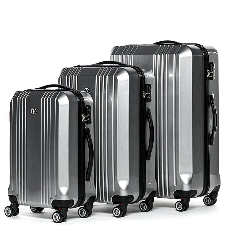 1e19ebafc4ff Amazon.com | FERGÉ luggage set 3 piece carry-on large and XL ...