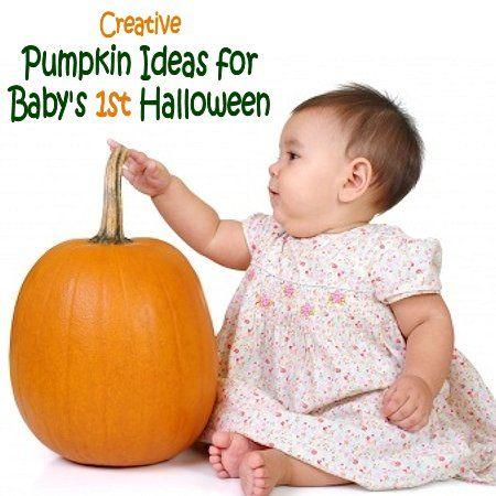 pumpkin ideas for babys first halloween - Baby First Halloween