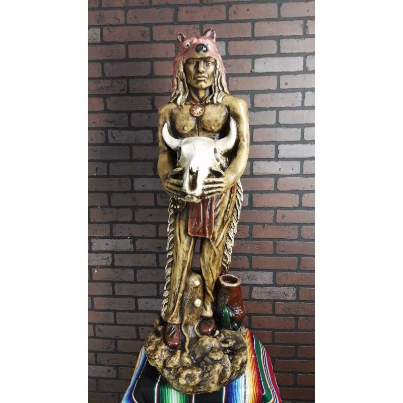 Indian sorcerer | For the Home | Indian, Mexican, Plaster