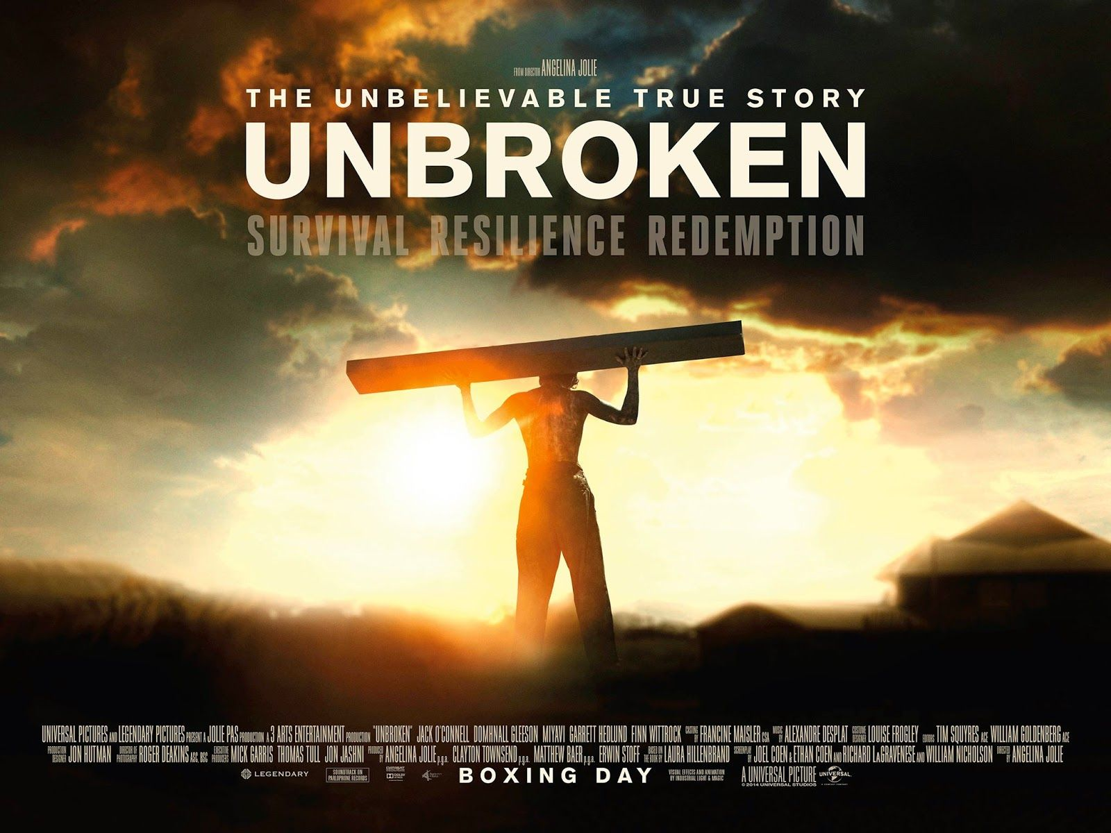 unbroken a world war ii story Unbroken and world war ii memory by robert fleegler angelina jolie's solid  film unbroken, based on laura hillenbrand's book of the same title, depicts.