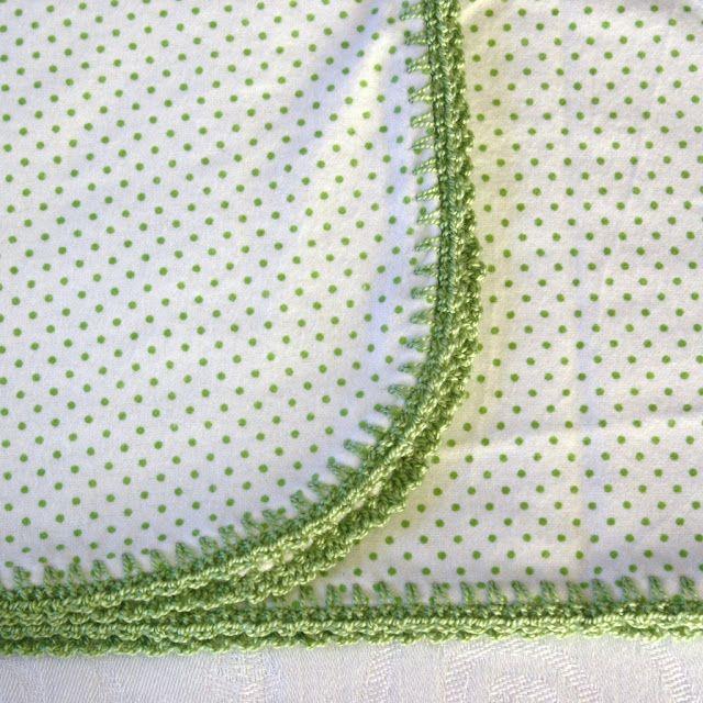 SewChic: Crochet Edging | Baby blanket | Ganchillo, Croché, Puntos
