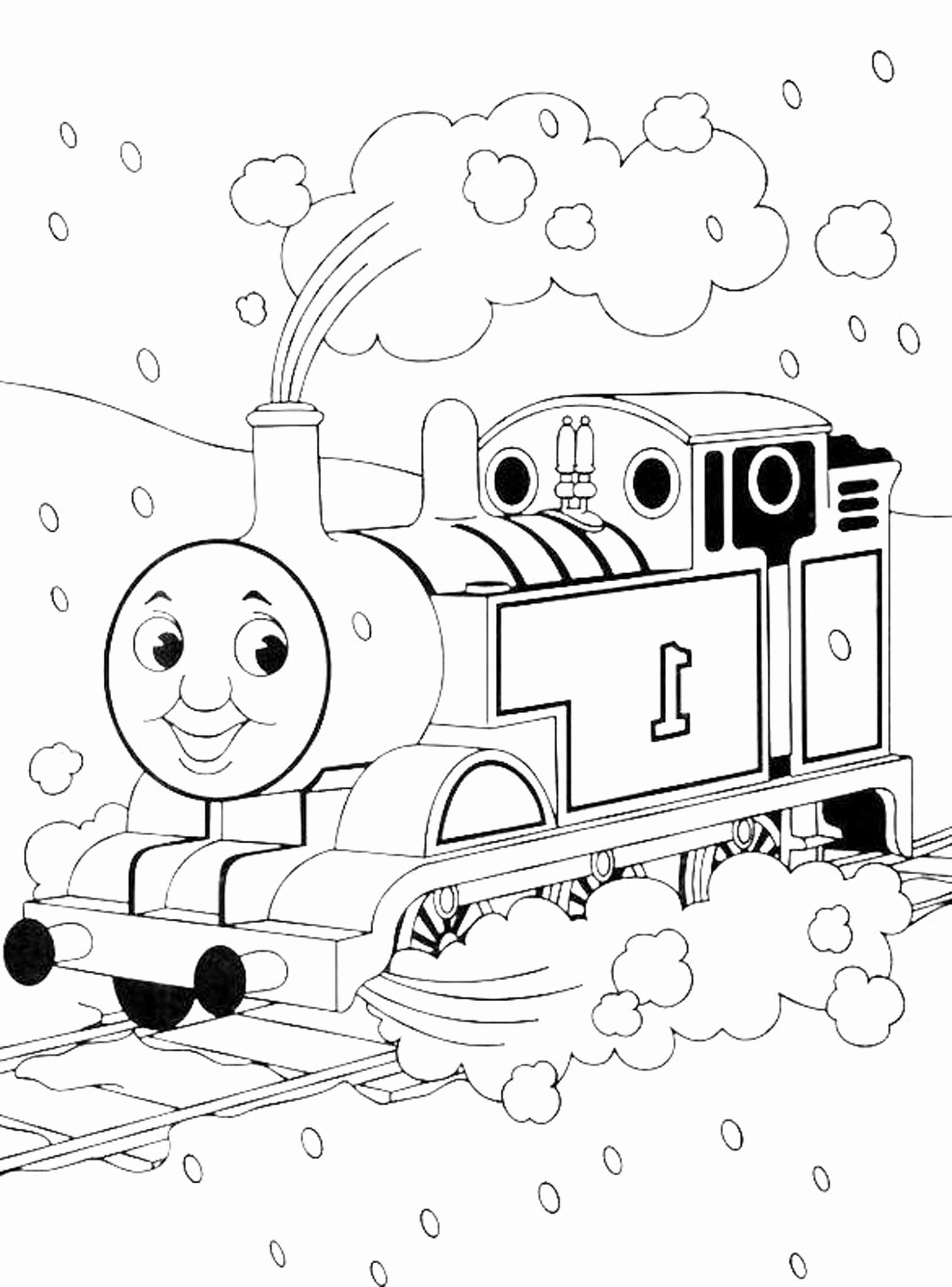 Thomas The Train Coloring Book Fresh Print & Download Thomas The