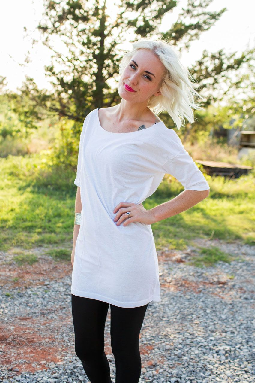 tunic from a men's shirt --> diy! | indiejane photography | Diy and