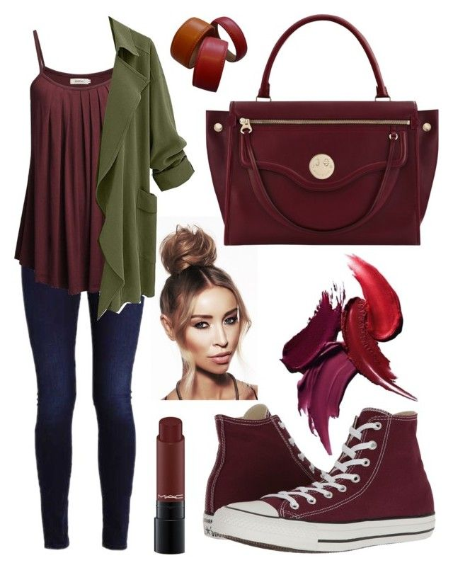 """Senza titolo #716"" by kirsten-weigh on Polyvore featuring moda, Converse, Hill & Friends e Etienne Aigner"