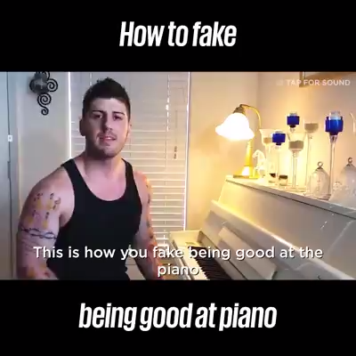 Photo of How to Fake Playing the Piano
