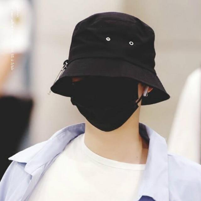 Harajuku Graffiti Kpop Bucket Hat Hat Fashion Fisherman S Hat Summer Sun Hat