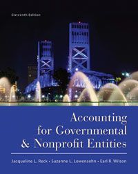 Test bank solutions for accounting for governmental and nonprofit test bank solutions for accounting for governmental and nonprofit entities 16th edition by reck isbn 0078110939 fandeluxe Choice Image