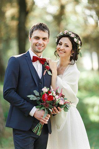 Яркая свадьба с красными акцентами: Сергей и Алёна ...