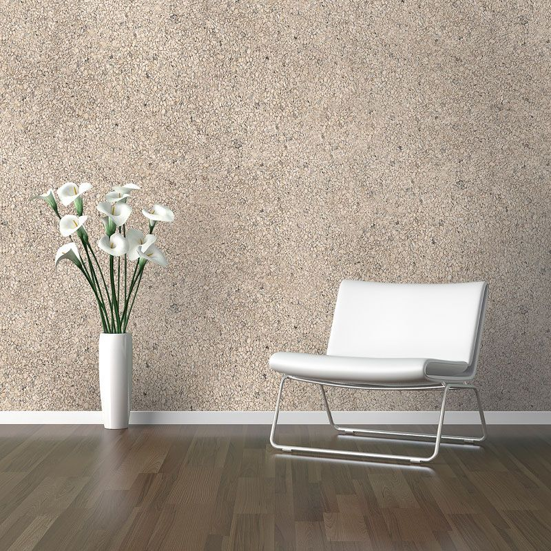 Sand textured shimmering mica stone wallpaper by Walls Republic ...