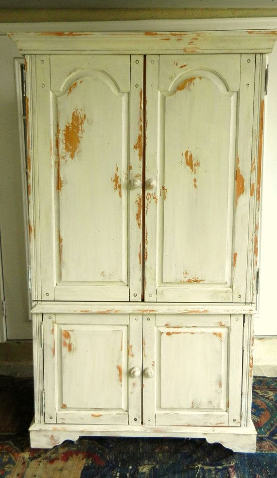 Painted French Country Armoire By TheBeautifulRoom On Etsy, $585.00