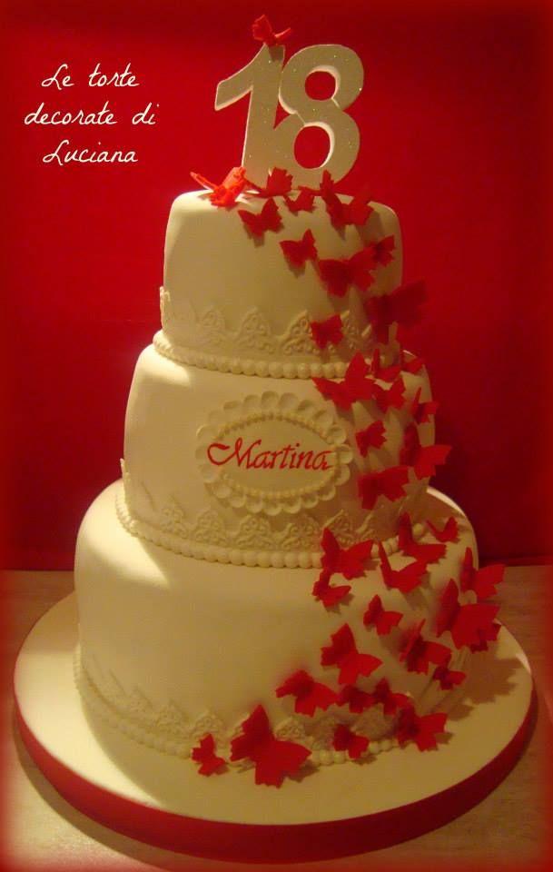 Torte 18 anni diciotto anni pinterest torte for Torte 18 anni ragazzo
