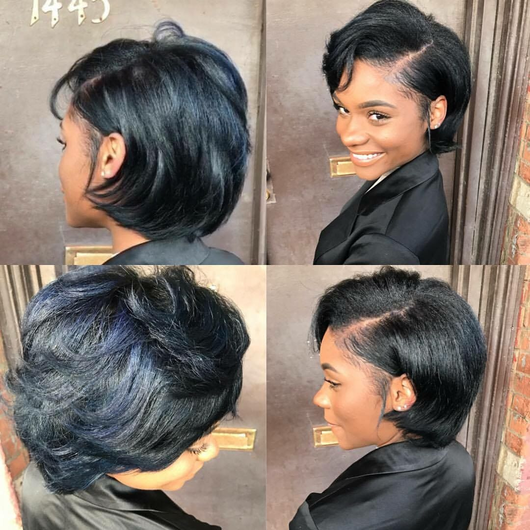 Pin By Taylor Chanel On Hair Silk Press Natural Hair Natural Hair Styles For Black Women Short Natural Hair Styles