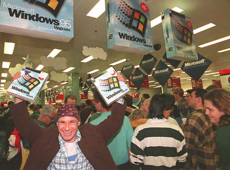 Tavoitteena on se, että  asiakkaat ovat yhtä iloisia ostaessaan Zakisomen palveluita kuin tämä kaveri, joka hankki Windows 95:en.