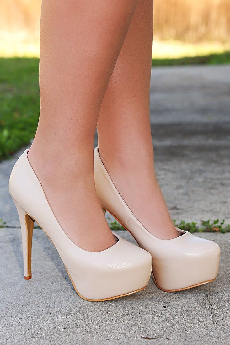 The Perfect Nude Heels: Nude #shophopes | Hope's | Pinterest ...