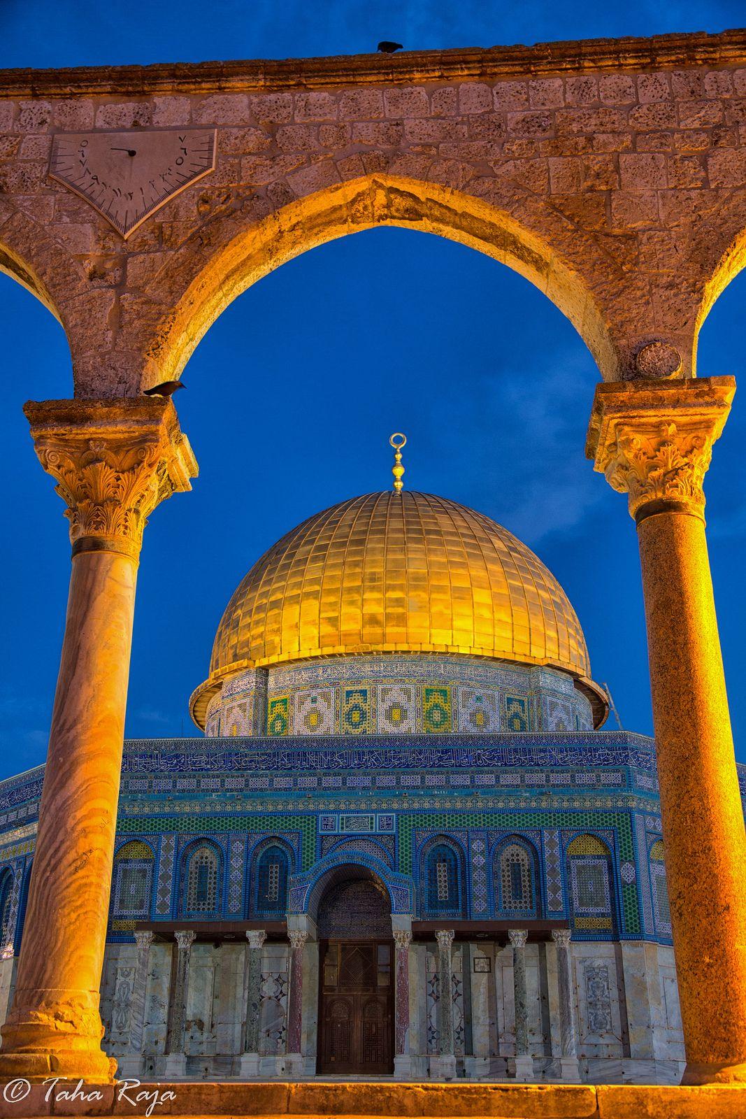 Gold Arch Saqara II Al Aqsa , Jerusalem, Israel