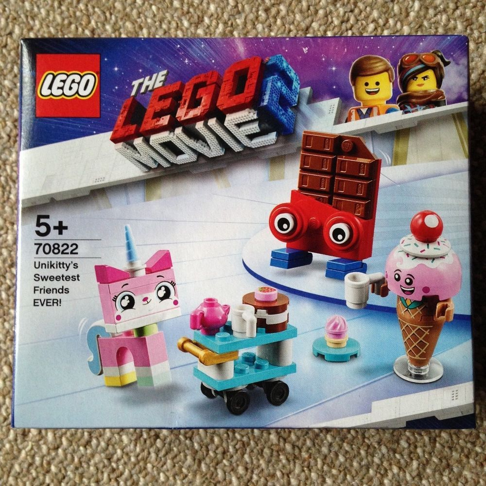 NEW 70822 Lego The Lego Movie 2 Unikitty/'s Sweetest Friends EVER!