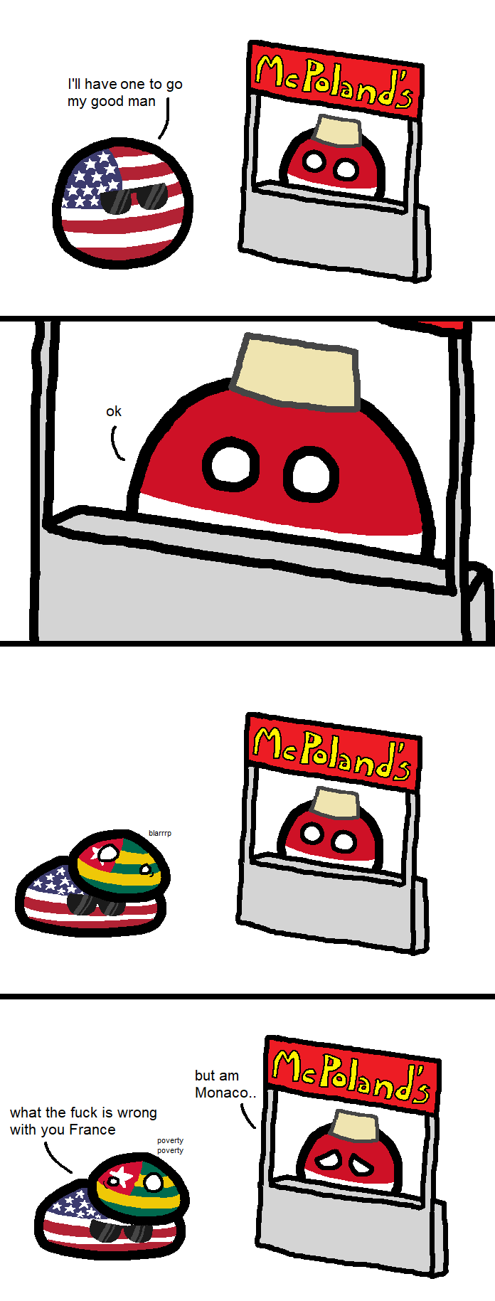 Countryballs Animated Polandball Or Indonesiaball Or Monacoball
