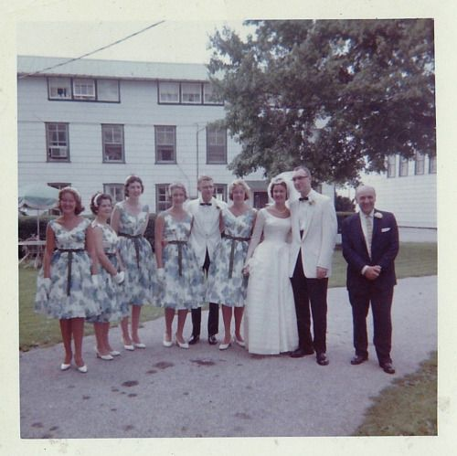 Wedding, 1959.