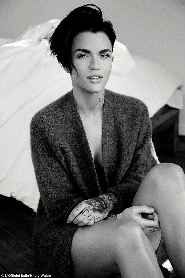 Ruby Rose Ruby Rose Pinterest Ruby Rose And Undercut - Undercut hairstyle ruby rose