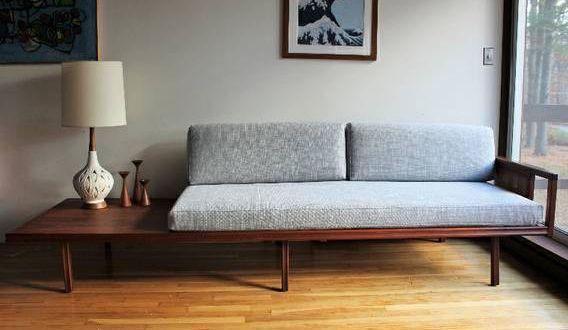Blue Lamb Furnishings Mid Century Modern Daybed Mid Century Modern Furniture Modern Daybed