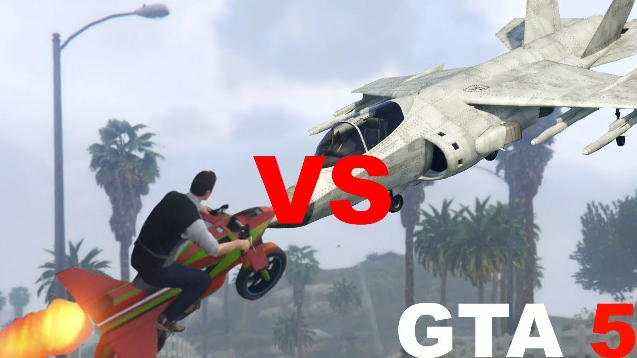 Gta 5 Win Epic Rocket Bike Oppressor Vs Jet Hydra