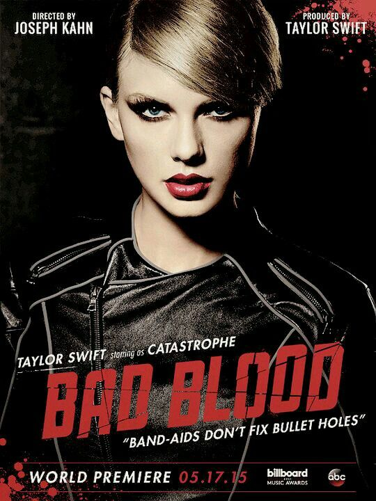 In my country is 22:35 and bad blood music video hasn't come yet waitinggg ♥