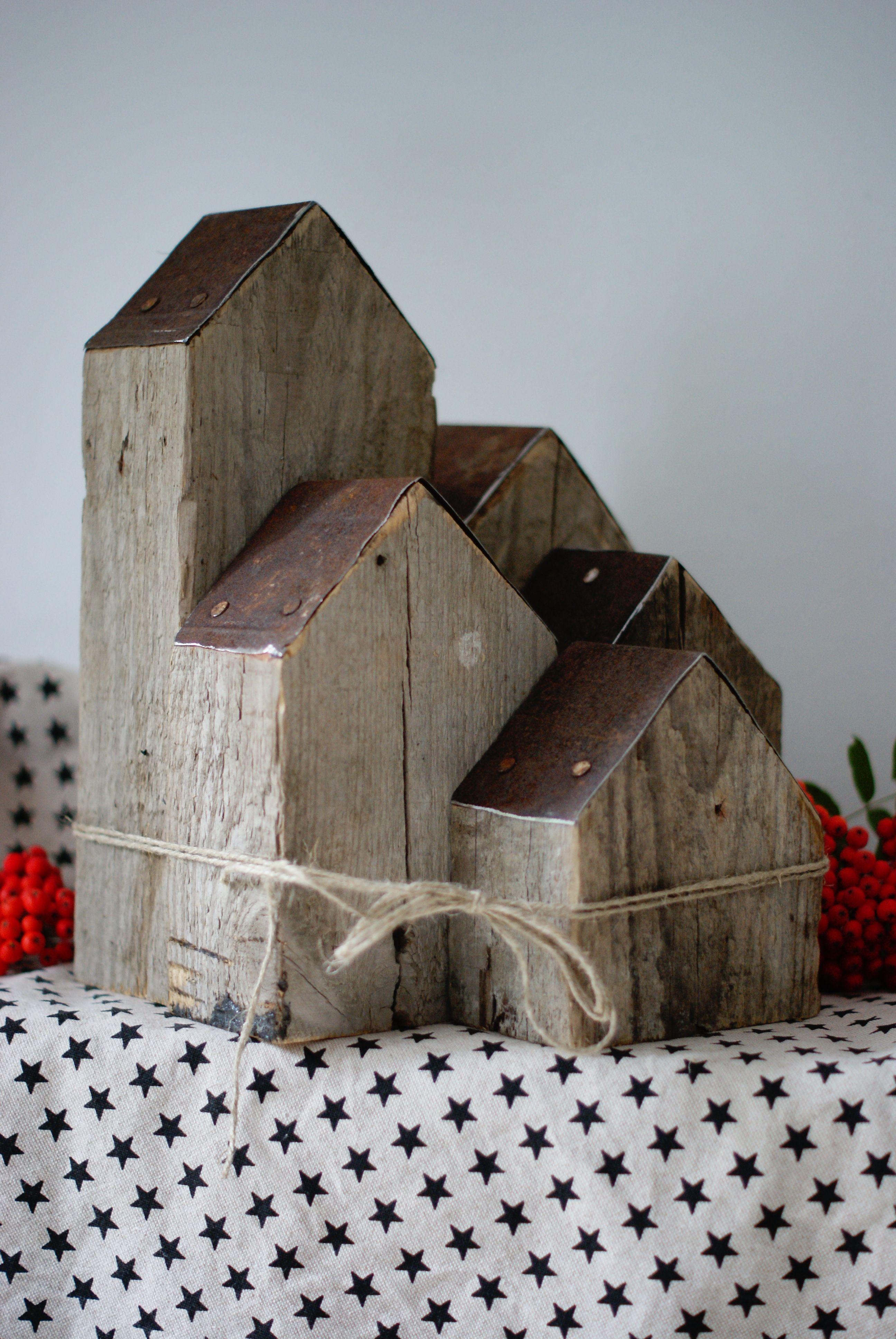 Casa Weihnachtsdeko.Casas Adosadas Crafts Holz Weihnachtsdeko Holz Und