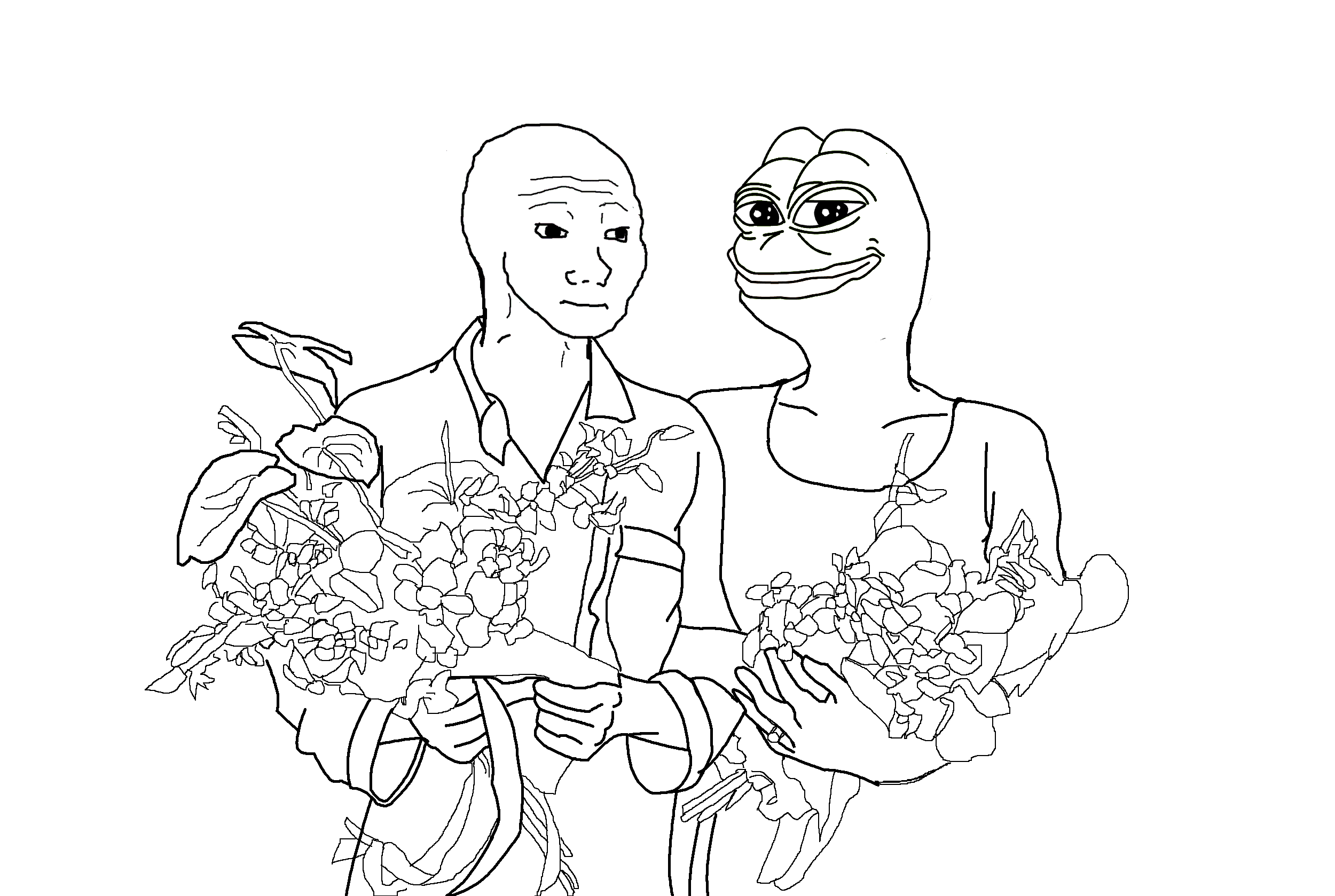 Pepe Meme Coloring Page Coloring Pages Coloring Pages Frog