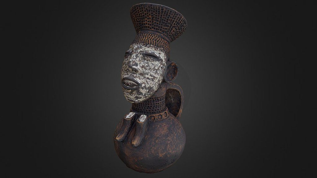 Vasija antropomorfa femenina by Museo de Arte Africano Arellano Alonso UVa