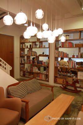Library Cafe Soi Sukhumvit 24 Bangkok