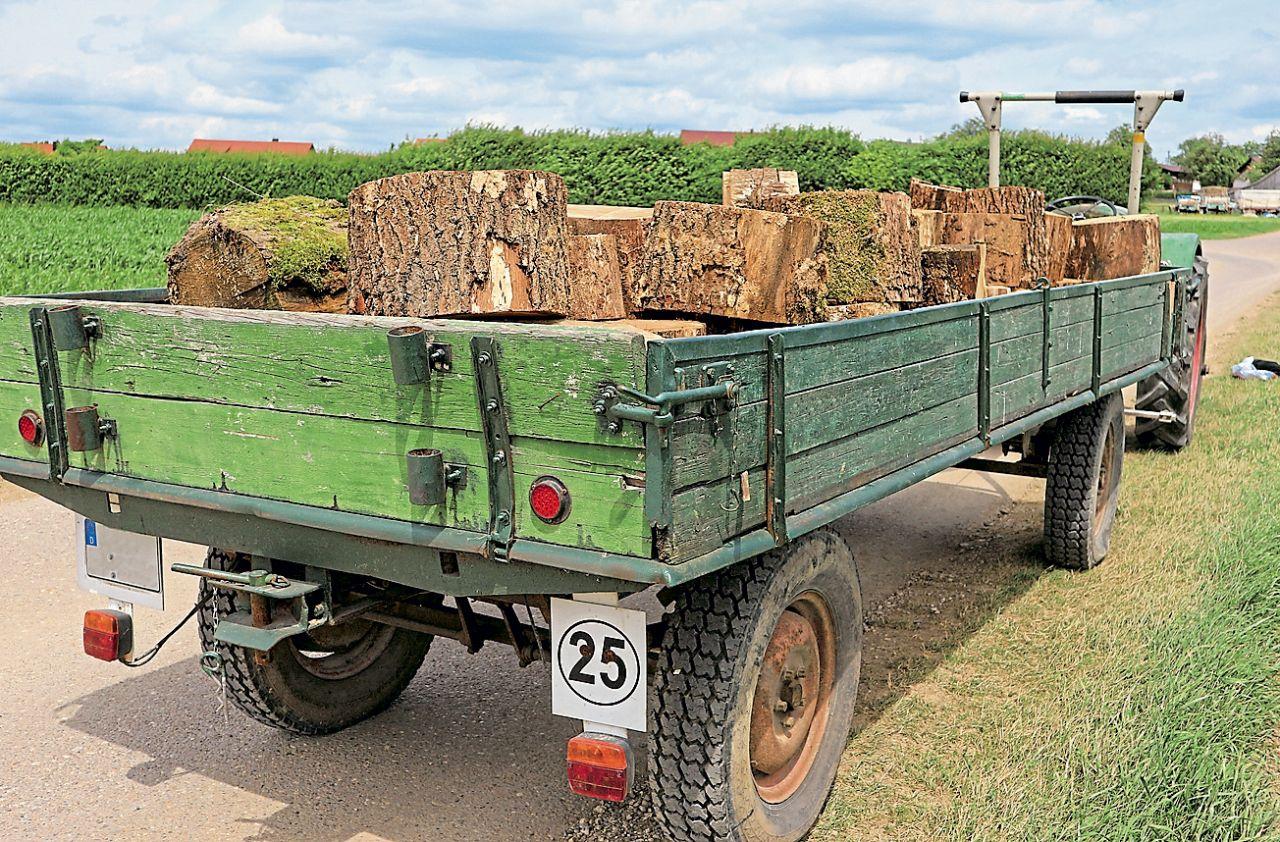 Steuerfreien Anhanger Privat Nutzen Anhanger Auto Traktor Kaufen Oldtimer Traktoren