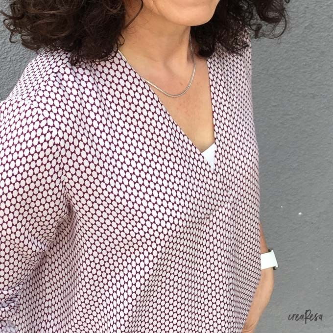 Bluse Lilly von Schnittmuster Berlin #clothpatterns