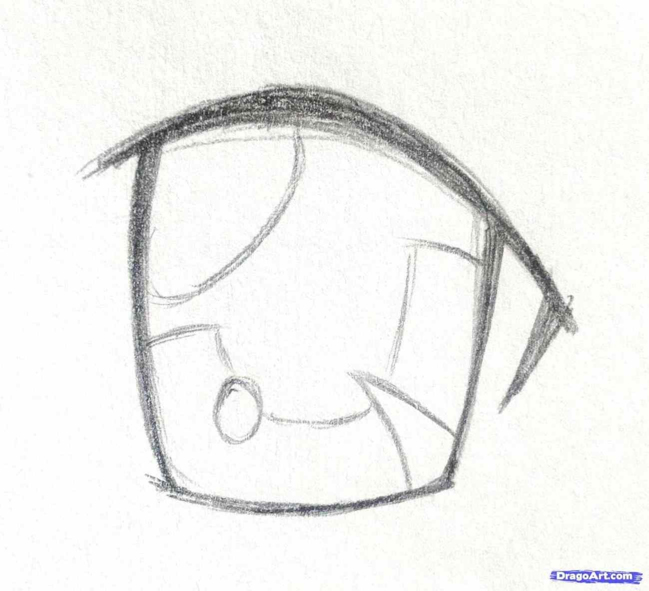how to draw anime step by step girls - siudy.net  Crying eye