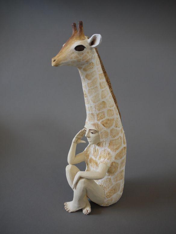 Artist Profile Crystal Morey Decorative Monogram Giraffe Artist