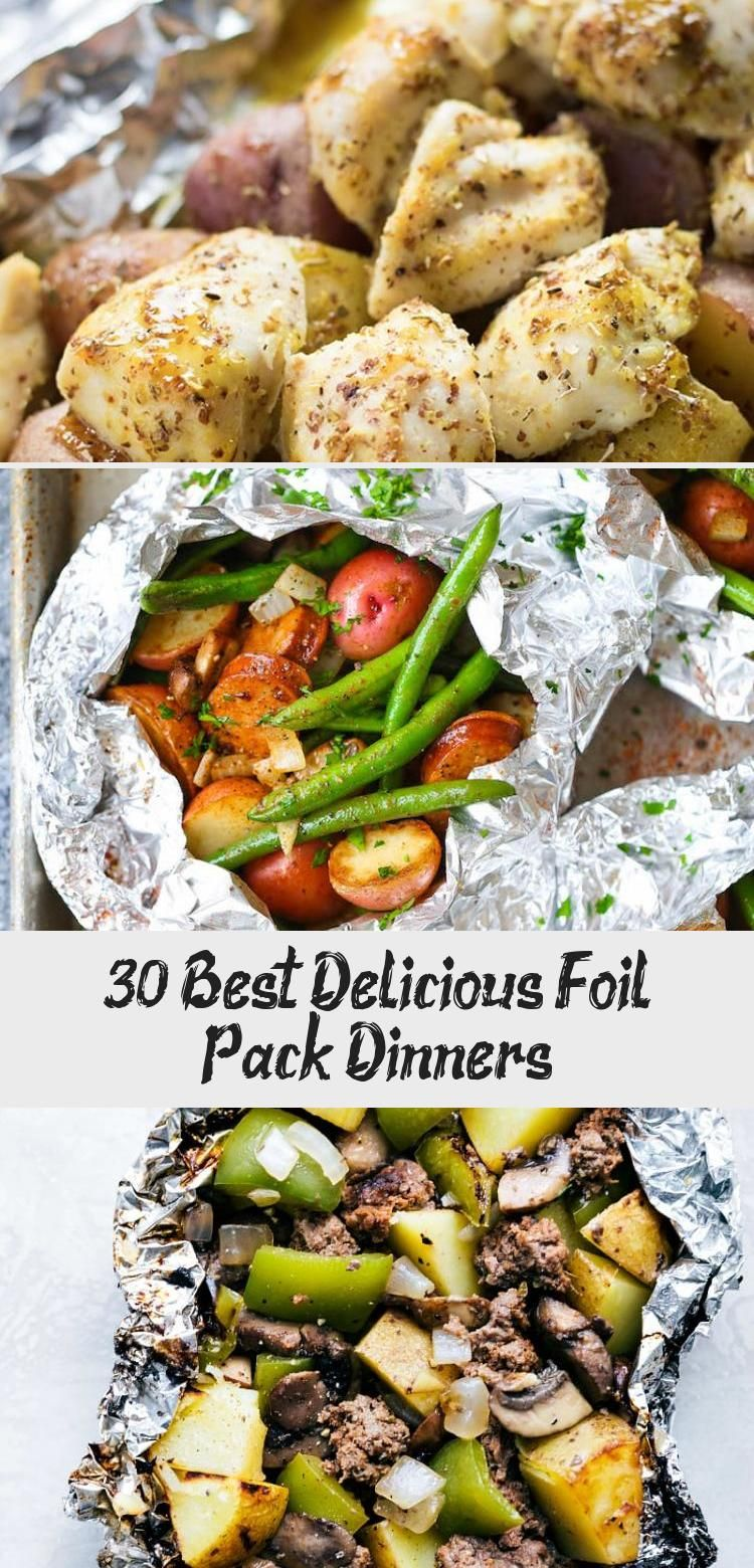 30 Best Delicious Foil Pack Dinners – Recipe