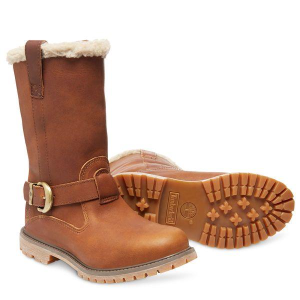 Zapatos marrones con hebilla Timberland para mujer Precio barato 100% original El precio más bajo fo5PGzfhl