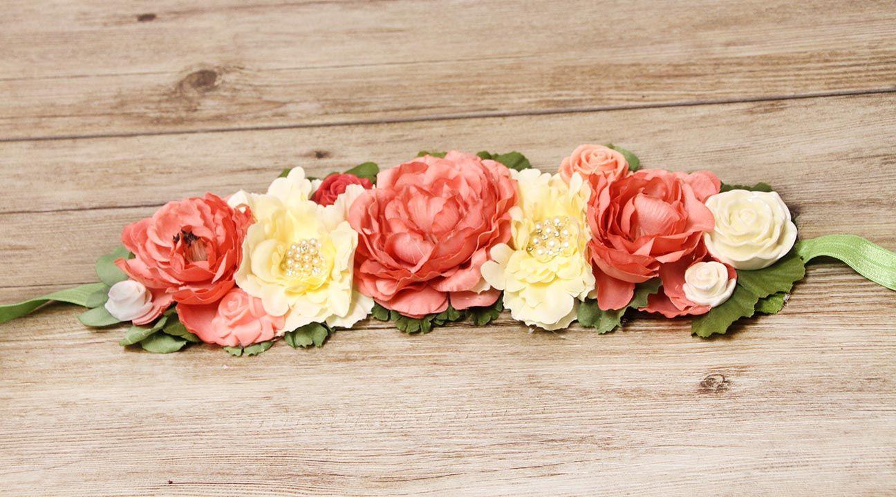 Fake Flower Crown Diy Crafty Pinterest Flower Crowns Crown