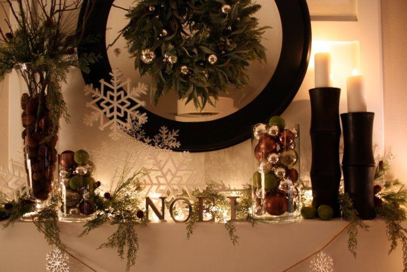 Sweet Something Designs Christmas Mantle 2010 Christmas Ideas